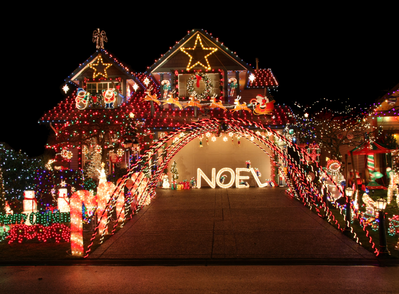 Beautiful Christmas Light Display.