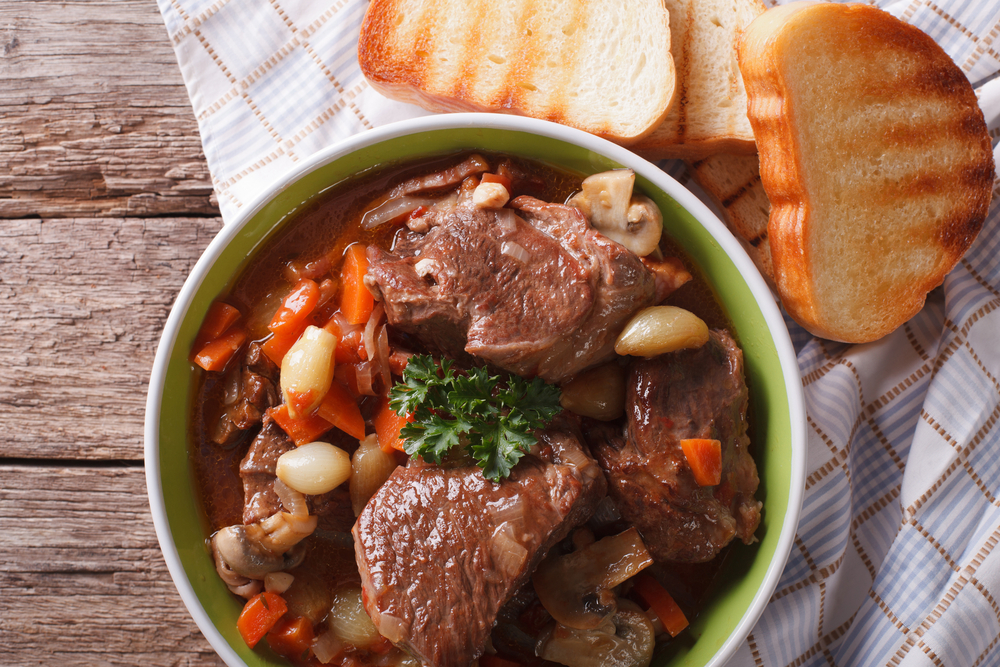Beef Bourguignon in France