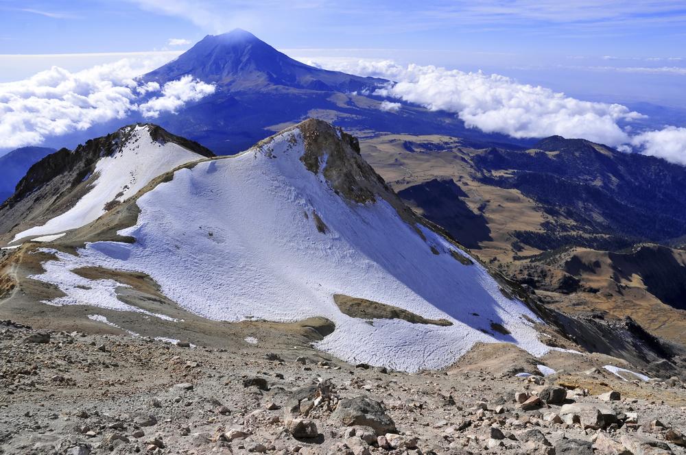National Park La Malintzi  mountains