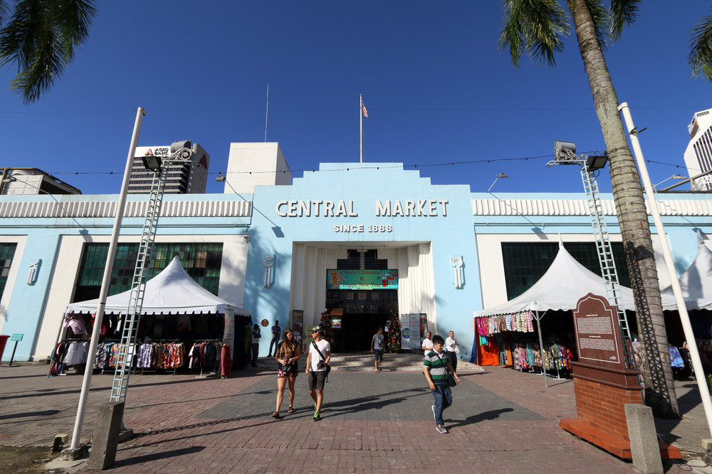 Central market front view