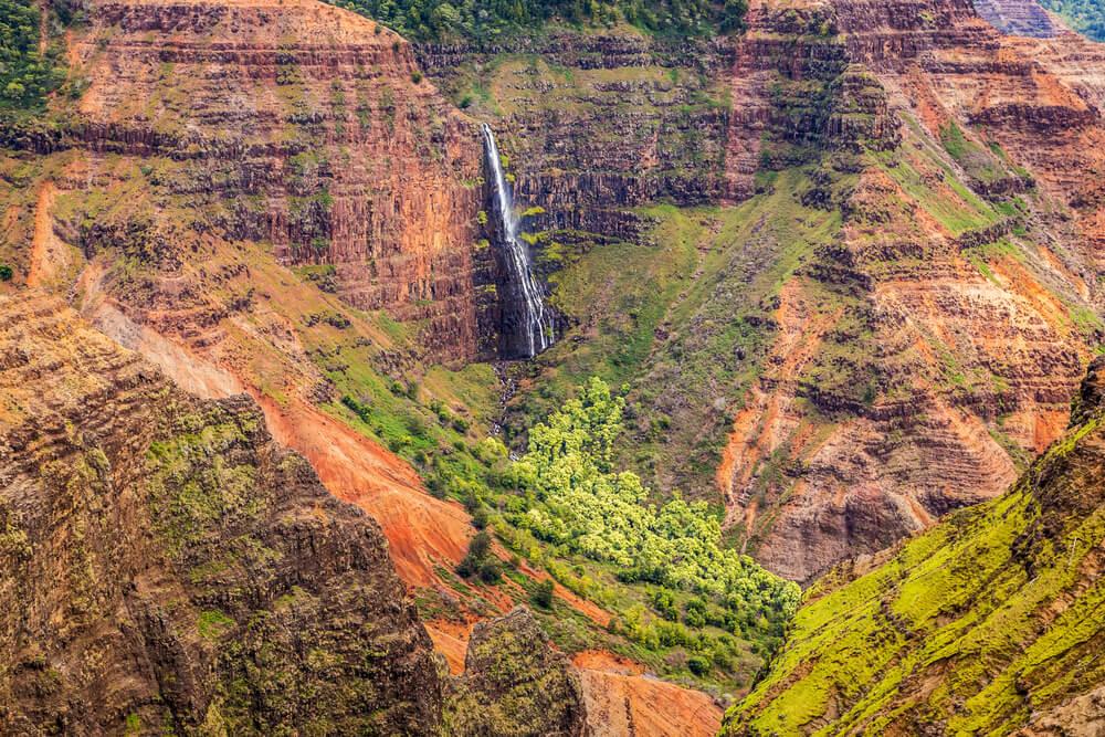 Waipoo Falls, Kauai, Hawaii