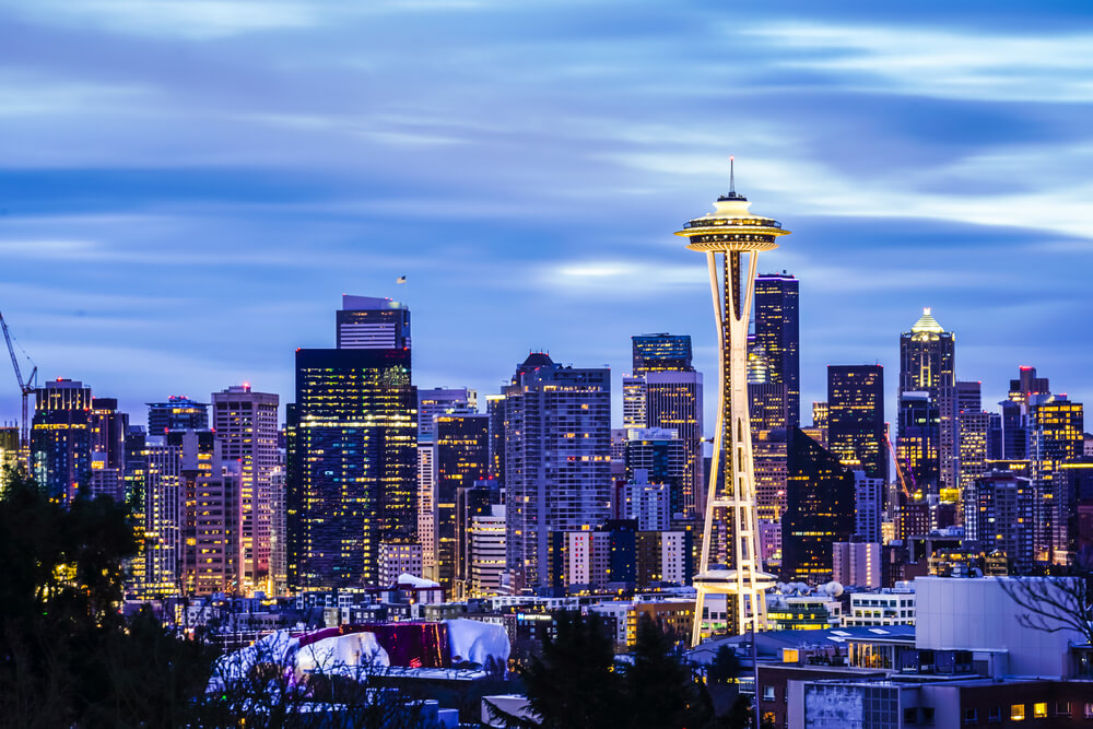 Space Needle in Seattle, USA