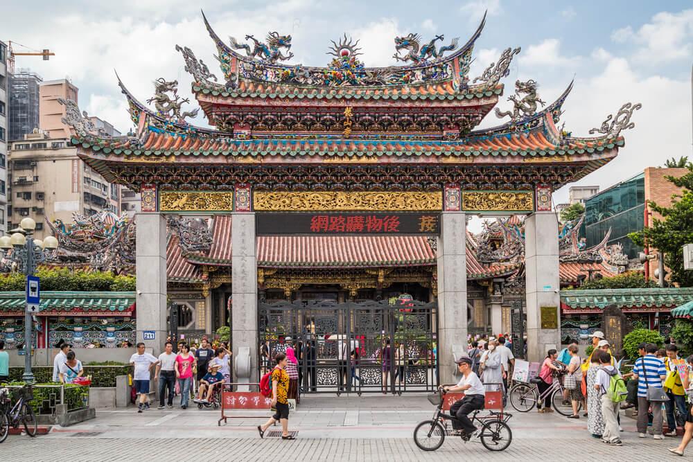 Longshan Temple in Taiwan