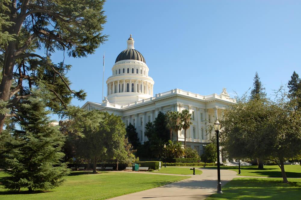 Capitol Park in Sacramento, USA