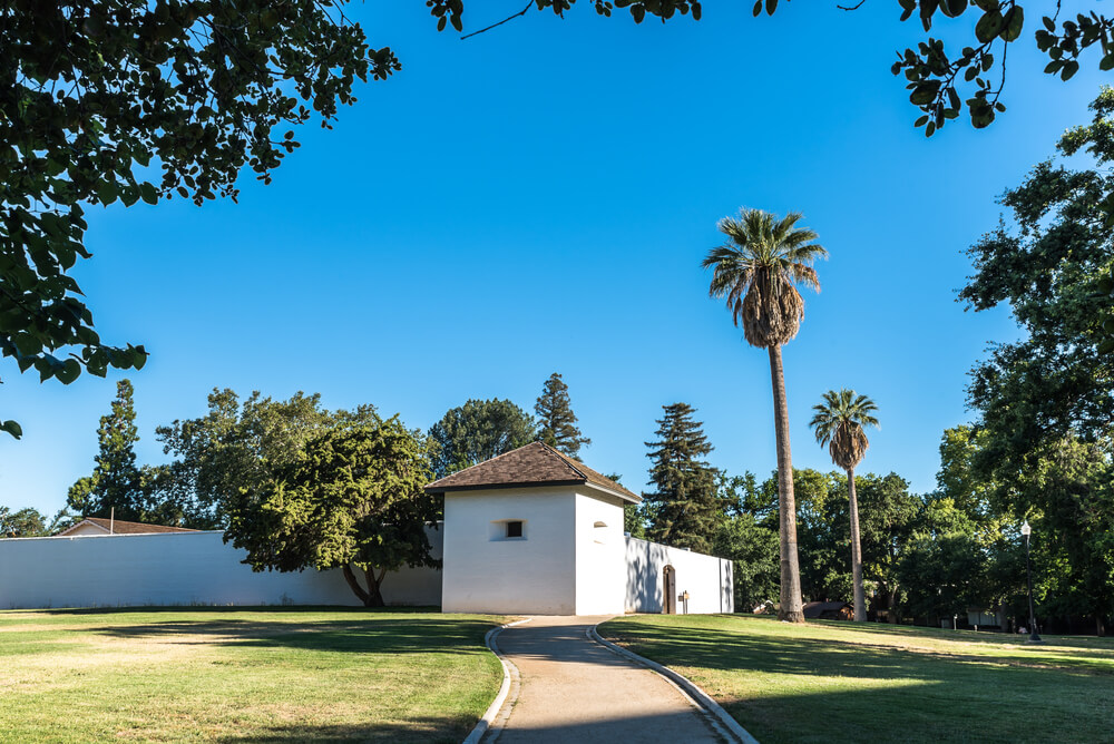 Sutter's Fort in Sacramento, USA