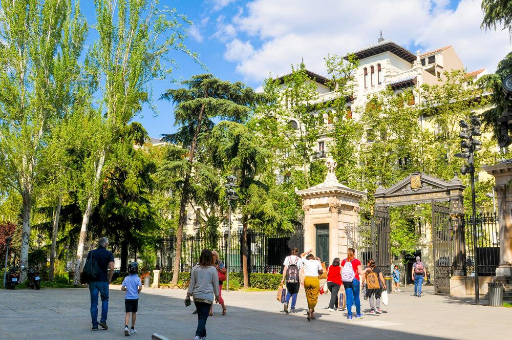 Royal Botanical Gardens (Real Jardin Botanico) in Madrid, Spain